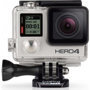 GoPro Hero 4 Silver + Built-In Touch Display