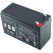 BATTERY 12V 7AH VRLA/FGB7-12 EMU 5939
