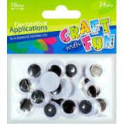 Craft With Fun Decorative Applications 24pcs 290507 (5901350210215)  0.59