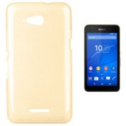 Forcell Jelly Brush Back Case For Sony E2003/E2053 Xperia E4g Gold (FO-JBR-SO-E4g-GO)  3.45