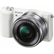 Sony ILCE A5100 + 16-50mm, White (ILCE5100LW.CEC)