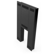 TERMOFOR Front Screen Mini for metal door, black 0.8 mm priekšējais ekrāns  52.01