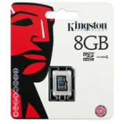 Kingston 8GB Micro SDHC Class4 Single P...