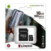 Atmiņas karte Micro SDHC 16GB Class10 Kingston