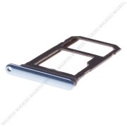 SIM tray Samsung SM-G955 Galaxy S8 Plus - blue (original) - GH98-41557D