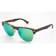 197445a03e Ray-Ban Clubmaster Oversized Flash Lenses (RB4175 609219 57mm) saules  brilles