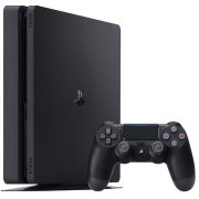 Sony Playstation 4 (PS4) Slim 500GB Black (711719845553; CUH-2016A; PS719851059; PlayStation 4 Slim 500GB; PS4500GBSLIM)