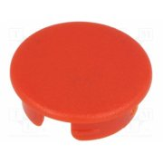 OKW - OKW A4140002, Cap; ABS; red; push-in; Applic
