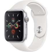 Apple Watch Series 5 GPS, 44mm Silver A...