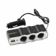 Esperanza EZ124 - Car cigarette lighter socket splitter with 1USB WAWE | EZ124 - 5901299911556  2.87