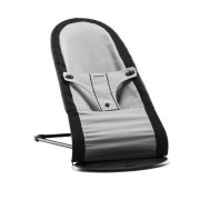 Babybjorn Fabric seat for Bouncer (Black/ Silver,
