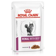 <b>ROYAL</b> <b>CANIN</b> Renal Beef Wet, Cat 85g