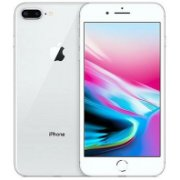 Apple iPhone 8 Plus, 128GB, Silver (MX2...