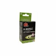 Tintes kasete UPrint HP 302XLCL 21ml / 330 pages,
