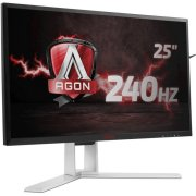 AOC AGON AG251FZ - 62.2 cm 24.5 inches, with LED 240 Hz, adaptive sync, 1 ms, height adjustment, 2x