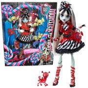Mattel/Tactic/Hasbro BHN02 / BHN00 Exclusive Monster high lelle Frankie Stein ar šausmulīti no sērijas Sweet Screams  24.00