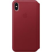 Apple iPhone XS Max Leather Folio Red (MRX32ZM) MR