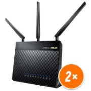 Asus RT-AC68U + RT-AC68U Routers