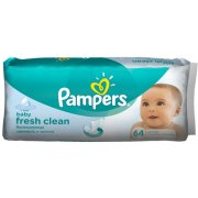 Pampers Fresh Clean Wipes 64pcs (4015400439110)
