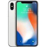 Apple iPhone X 64GB Silver D-Model sudrabs