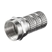 MicroConnect Twist-On F-Plug 5.2mm Zinc-nickel ( C