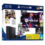 PLAYSTATION 4 CONSOLE 1TB PRO FIFA 21 2ND DUALSHOC