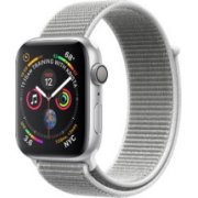 Apple Watch Series 4 40mm Silver Aluminum Seashell Sport Loop (GPS) MU652