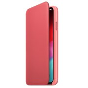 Ādas apvalks folio priekš iPhone XS Max, Apple, MR