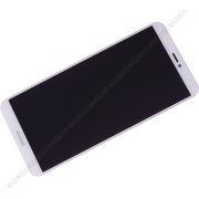 Front cover with touch screen and LCD display Huawei P Smart - white (original) - 02351SVE