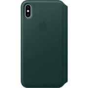 APPLE iPhone XS Max Leather Folio - Forest Green,