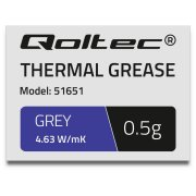Qoltec Thermal grease 4.63W/m-K 0 5g grey ( 51651