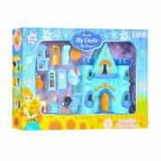 Elephant Toys Blue ice castle with music furniture