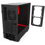 Case Midi <b>NZXT</b> <b>H510</b> Red/Black ( CA <