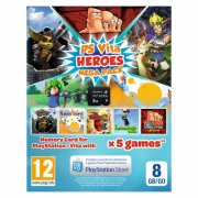 Sony PS Vita Heroes Mega Pack + 8GB Memory Card