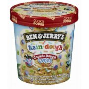 "Ben&Jerry""s Rain-dough Cookie dough twist saldējum"