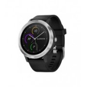 GARMIN vivoactive 3 Stainless Steel Black with Black Band 010-01769-02
