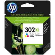 HP 302XL Tri-Color C/M/Y (F6U67AE#BA3; ...
