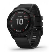 GARMIN fenix 6X PRO Black with Black Ba...