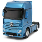 RASTAR truck with car RC Mercedes-Benz Actros Red/Yellow/Silver, 74940