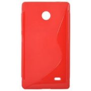 Telone Back Case S-Case for Nokia X / Dual Sim Coral (A-BC-SC-NOK-X-CO)  4.50