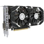 MSI GeForce GTX 1050 Ti, 4GB, GDDR5, OC...