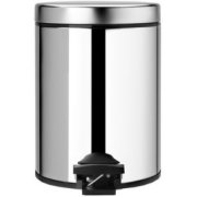 Brabantia Garbage Can 5l Brilliant Stee...