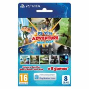 Sony PS Vita Adventure Mega Pack + 8GB Memory Card