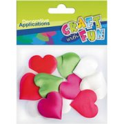 Craft With Fun Decorative Applications Hearts 339066 (339066)  0.74