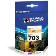 Ink Black Point BPH703 | Color | 12ml | HP CD888AE