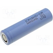 SAMSUNG - SAMSUNG ICR 18650-22P, Re-battery: Li-Ion; MR18650; 3.6V; 2200mAh; Ø18.25x65mm; 10A - ACCU-18650-2.2P-HV