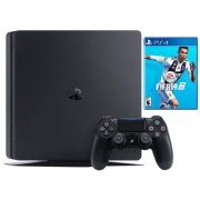 sony playstation 4 slim black 500gb fifa 19 cuh-2216a