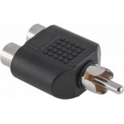 Inne Connector plug RCA-2xsocket RCA ZLA0305