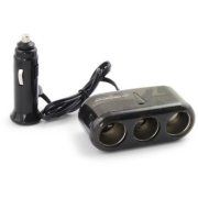 Esperanza EZ126 - Car Cigarette lighter socket splitter with 3 PORTS | EZ126 - 5901299911570  2.99