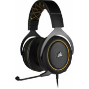 Corsair HS60 PRO Gaming Over-Ear Headset Yellow CA